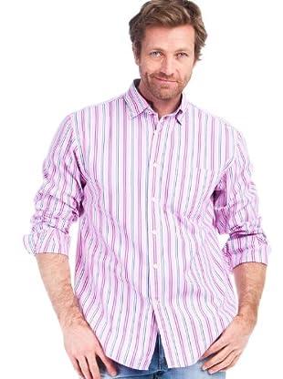 Cortefiel Camisa Pin Point (Rosa)