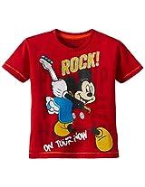 Disney Boy's Mickey T-Shirt
