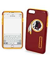 Forever Collectibles - Licensed NFL Cell Phone Case for Apple iPhone 6/6s - Retail Packaging - Washington Redskins