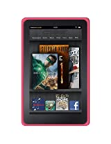 Amzer Silicone Skin Jelly Case - Baby Pink for Amazon Kindle Fire