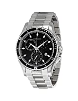 Hamilton Jazzmaster Seaview Black Dial Chronograph Men'S Watch - Hml-H37512131