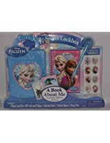 Disney Frozen My Secret Lockbox Activity Kit A Book About Me Activities, Fill Ins, Stickers #As67028, Ages 3+