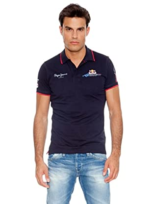Pepe Jeans London Polo Number 1 Polo By Pjl (Azul)