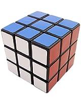 Lanlan 3x3 Sticker Speed Cube, Black