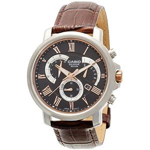Casio Enticer Black Dial Men's Watch - BEM-506GL-1AVDF (BS124)