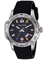 Nautica Sports Analog Black Dial Men's Watch - NAI13517G