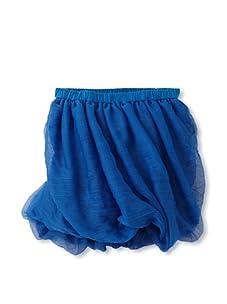 kicokids Girl's Twisted Bustle Skirt (Surf)