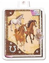 Diary Horse with Lock & Keys