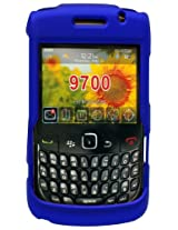 Cellet Blue Rubberized Proguard Cases for BlackBerry 9700