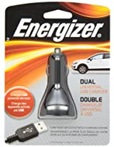 Energizer Dual Universal Usb Car Charger, Pc-2ca