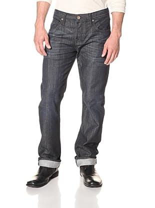 Rockstar Denim Men's 5 Pocket Slim Fit Jean (Dark Wash)