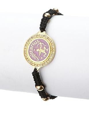Blee Inara Lilac Sagittarius Macrame Bracelet
