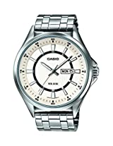 Casio Enticer  Analog White Dial Men's Watch - MTP-E108D-7AVDF( A966)