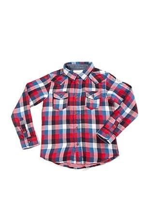 Diesel Junior Hemd (Rot/Blau/Weiß)