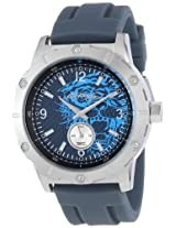 Ed Hardy Men's MX-BL Matrix Blue Watch