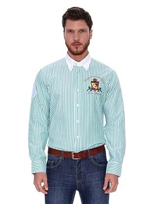 Spagnolo Camisa Oxford Iii (Verde / Blanco)