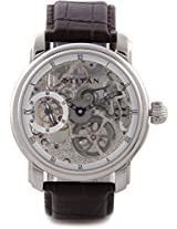 Titan Automatic Analog Watch For Men Brown 9277SL01