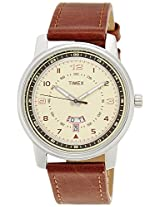 Timex Fashion Analog Beige Dial Men's Watch - TW000V806