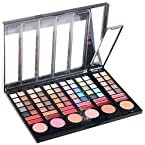 FASH professional 78 Color Eyeshadow and Lip Gloss - Matte and Shimmer palette (makeup cosmetic)