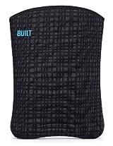 BUILT Neoprene Slim Sleeve for all iPads Graphite Grid