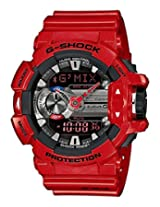 Casio G-Shock Bluetooth Analog-Digital Red Dial Men's Watch - GBA-400-4ADR (G559)