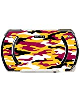 Maroon And Gold Yellow Camo Camouflage Psp Go Vinyl Decal Sticker Skin By Moonlight Printing