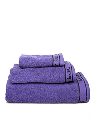 ByBasi Estuche de toallas Logo (Azul)