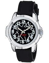Ego by Maxima Analog Black Dial Men's Watch - (E-01121PAGC)
