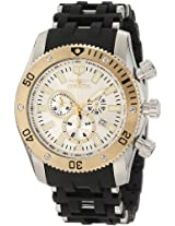Invicta Men's 10250 Sea Spider Chronograph Silver Dial Watch