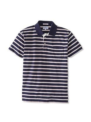 GANT Rugger Men's Stripe In Stripe Polo (Navy)