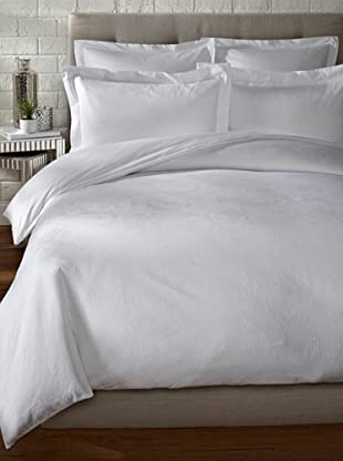 Mason Street Textiles Paisley Duvet Set (White)