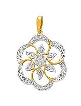 Gili 18k Yellow Gold and Diamond Pendant