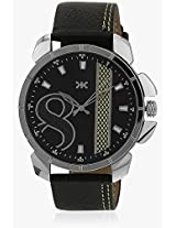 Killer Black Dial Watch for Mens (KLW5003A)