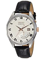 Seiko Analog White Dial Men's Watch - SRN073P1