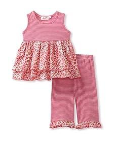 Jupon Baby Blair Tunic & Pants Set (Pink)