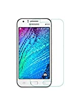 Totelec Shatterproof Tempered Glass Scratch Protector For Samsung Galaxy J1