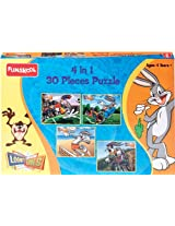 Funskool Looney Tunes 4-in-1 Puzzle