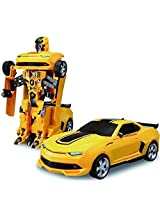ToyTree Remote Control Transformable Troopers Robot Tranformer to Car - robot convert in to car!!!
