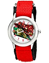 Marvel Avengers: Age of Ultron Kids' W002235 Hulk and Iron-Man Red Watch