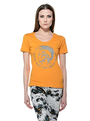 Diesel T-Shirt Manga (Orange)