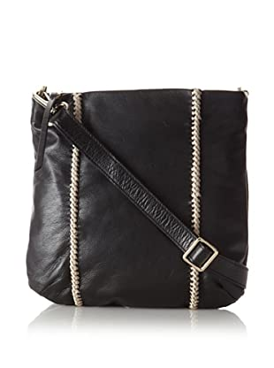 Christopher Kon Women's Aubrey Cross-Body, Black/Ash
