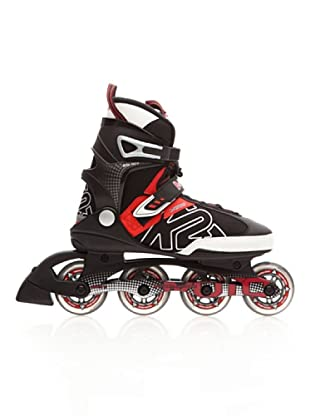 K2 Patines Fitness Moto Men (negro / rojo)
