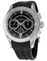 Hamilton Men's H37616331 Seaview Black Dial Watch