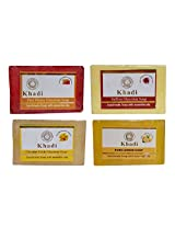 Khadi Soaps 500 Grams (Pack of 4) (HSHCL4)