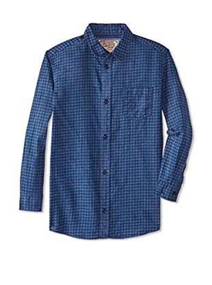 Lil Jachs Boy's Long Sleeve Button-Up