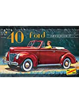 Lindberg USA 1/32 Scale 1940 Ford Convertible Plastic Model Kit