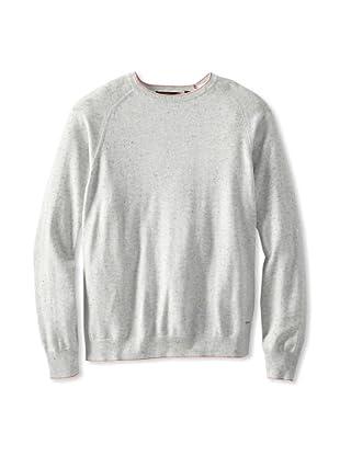 Agave Denim Men's Abeam Fine Gauge Raglan Crew Neck Shirt (Fog)