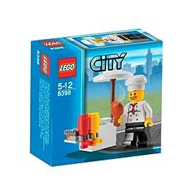 レゴの町のバーベキューセット