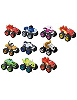 Fisher Price Nickelodeon Blaze And The Monster Machines Vehicle Complete Set Of 10