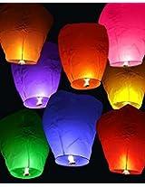 Sky Lanterns(Pack of 5)